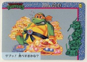 TMNT Japanese Trading Card - PP Card #13 - Teenage Mutant Ninja Turtles