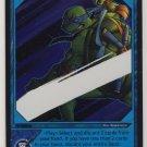 TMNT Trading Card Game - Foil Card #15 - Quick Draw - Ninja Turtles