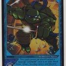 TMNT Trading Card Game - Foil Card #17 - Blue Dragon - Ninja Turtles