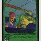 TMNT Trading Card Game - Foil Card #32 - Hacking - Ninja Turtles