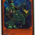 TMNT Trading Card Game - Foil Card #55 - Wire Action - Ninja Turtles