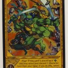 TMNT Trading Card Game - Foil Card #73 - Retaliation - Ninja Turtles