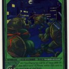 TMNT Trading Card Game - Foil Card #35 - Stealthy Steps - Ninja Turtles