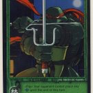 TMNT Trading Card Game - Foil Card #24 - Raphael - Ninja Turtles