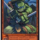 TMNT Trading Card Game - Uncommon Card #43 - Leonardo - Ninja Turtles