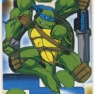 TMNT Trading Card - 3D Model Leonardo (A) - Teenage Mutant Ninja Turtles - Fleer