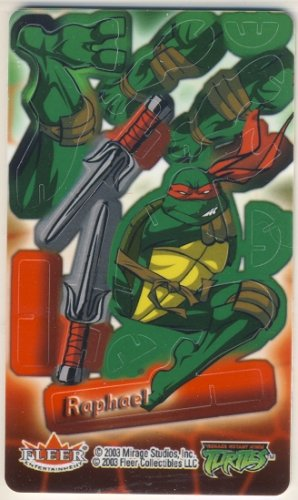 TMNT Trading Card - 3D Model Raphael (B) - Teenage Mutant Ninja Turtles - Fleer