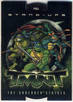 TMNT Fleer Series 2 Trading Card - TMNT Group Stand-Up - Shredder Strikes - Ninja Turtles