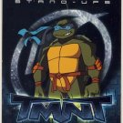 TMNT Fleer Series 2 Trading Card - Leonardo Stand-Up - Shredder Strikes - Ninja Turtles