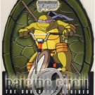 TMNT Fleer Series 2 Trading Card - Raising Shell #02 Donatello - Shredder Strikes - Ninja Turtles