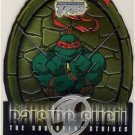 TMNT Fleer Series 2 Trading Card - Raising Shell #03 Raphael - Shredder Strikes - Ninja Turtles