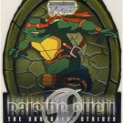 TMNT Fleer Series 2 Trading Card - Raising Shell #04 Raphael - Shredder Strikes - Ninja Turtles