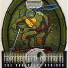 TMNT Fleer Series 2 Trading Card - Raising Shell #08 Leonardo - Shredder Strikes - Ninja Turtles