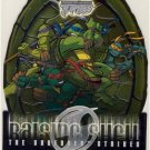 TMNT Fleer Series 2 Trading Card - Raising Shell #10 Group - Shredder Strikes - Ninja Turtles