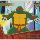 TMNT Fleer Series 2 Trading Card - Gold Parallel #27 - The Shredder Strikes - Ninja Turtles