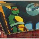 TMNT Fleer Series 2 Trading Card - Gold Parallel #50 - The Shredder Strikes - Ninja Turtles