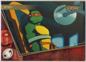 TMNT Fleer Series 2 Trading Card - Gold Parallel #50 - The Shredder Strikes - Ninja Turtles