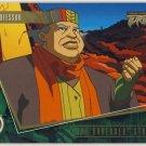 TMNT Fleer Series 2 Trading Card - Gold Parallel #69 - The Shredder Strikes - Ninja Turtles