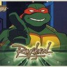 TMNT Fleer Series 1 Trading Card - Gold Parallel #33 - Raphael - Ninja Turtles