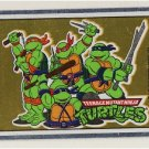 Ninja Turtles Vintage Foil Sticker - Group - TMNT