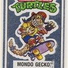 Mondo Gecko Vintage Foil Sticker - Ninja Turtles - TMNT