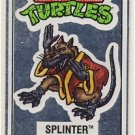 Master Splinter Vintage Foil Sticker - Ninja Turtles - TMNT