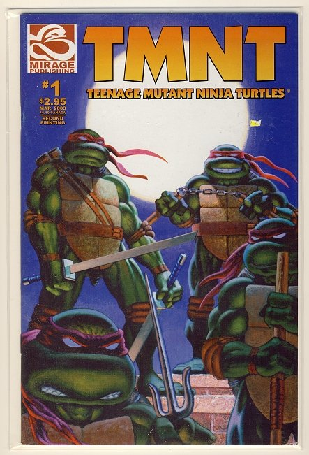 Teenage Mutant Ninja Turtles Vol. 4 #1 (2nd Print) Comic Book - TMNT
