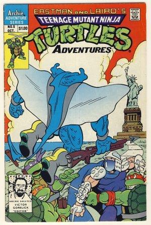 TMNT Adventures #5 Comic Book - Ninja Turtles - Archie