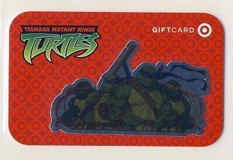 TMNT Target Gift Card - Teenage Mutant Ninja Turtles