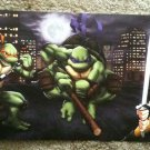 Ninja Turtles RARE 2007 Movie NYCC Art Print - TMNT