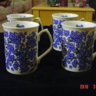Royale Garden Bone China Staffs England Mugs