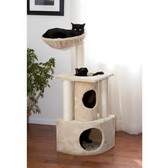 Meow Town Kitty Bird Watcher Perch