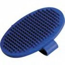 Master Grooming Tools Oval Rubber Grooming Brush with Adjustable Handstrap