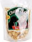 Charlee Bear Flavored Dog Treats   6 oz
