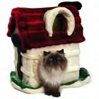Meow Town Plush Kitty Country Cottage 19x12.5x22 Inch