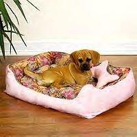 "Slumber Pet Reversible Floral Beds (Medium measures 26""L x 20""W)"