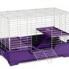 "3 Level Deluxe Ferret Home 32 X 20 X 21"" (white/lavender)"