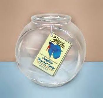 Glass Drum Bowl 1 Gallon