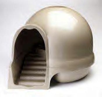 Booda Dome Clean Step Litter Box Titanium