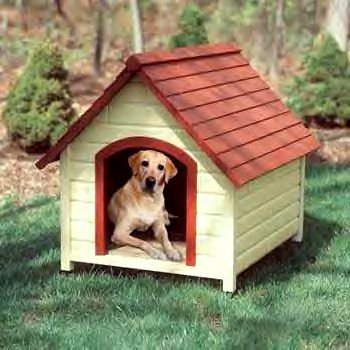 Premium Dog House Large 32x40x34
