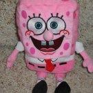 "2006 Ty Beanie Baby 8"" SpongeBob PinkPants Retired"