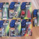 90's Hasbro /Kenner Star Wars Action Figures Lot of 7 The Power of the Force Series New in Packages