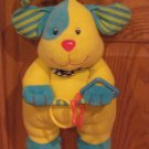 Parents Plush Colorful Puppy Dog Musical Rock A Bye Baby Crib Pull Toy