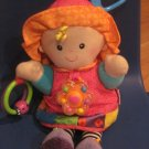 Lamaze Link My Friend Emily Developmental Colorful Crinkle Rattle Plush Doll