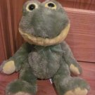 "KellyToy Plush Green and Yellow 16"" Frog Talking Kelly Toy Ribbit"