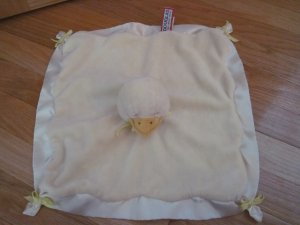 Yellow Douglas Yellow Duck Ducky Security Blanket Baby Lovey