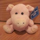 Shanghai Toy Time Enterprises Distributed by Target Plush Seated Pink Pig