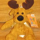 Walmart Kellytoy Golden Brown Plush Moose Deer Kelly Toy