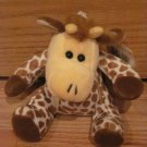 "Kellytoy Small 7.5"" Plush Giraffe with Spots & Yellow Face Walmart Kelly Toy"