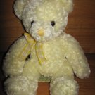 Tri Russ International for Target Yellow Plush Teddy Bear with Gingham Bow